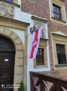 flaga BY na Zamku