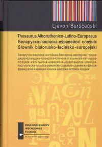 Słownik białorusko-łacińsko-europejski